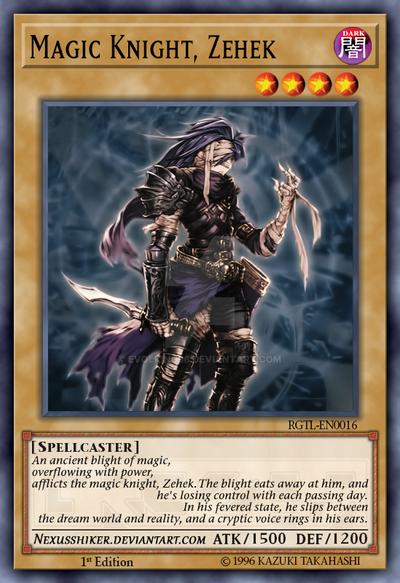 [Ragnarok's Tales] Magic Knight, Zehek by EvolKing96