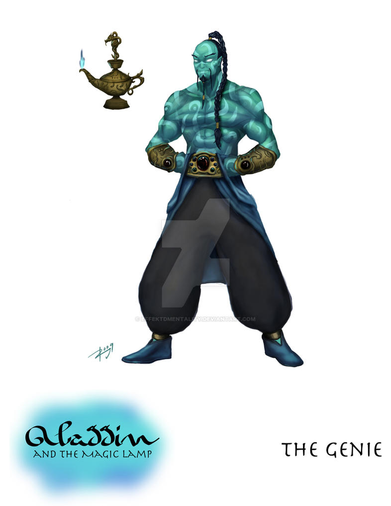 Lovely Aladdin: The Genie Of The Lamp By Effektdmentality ...