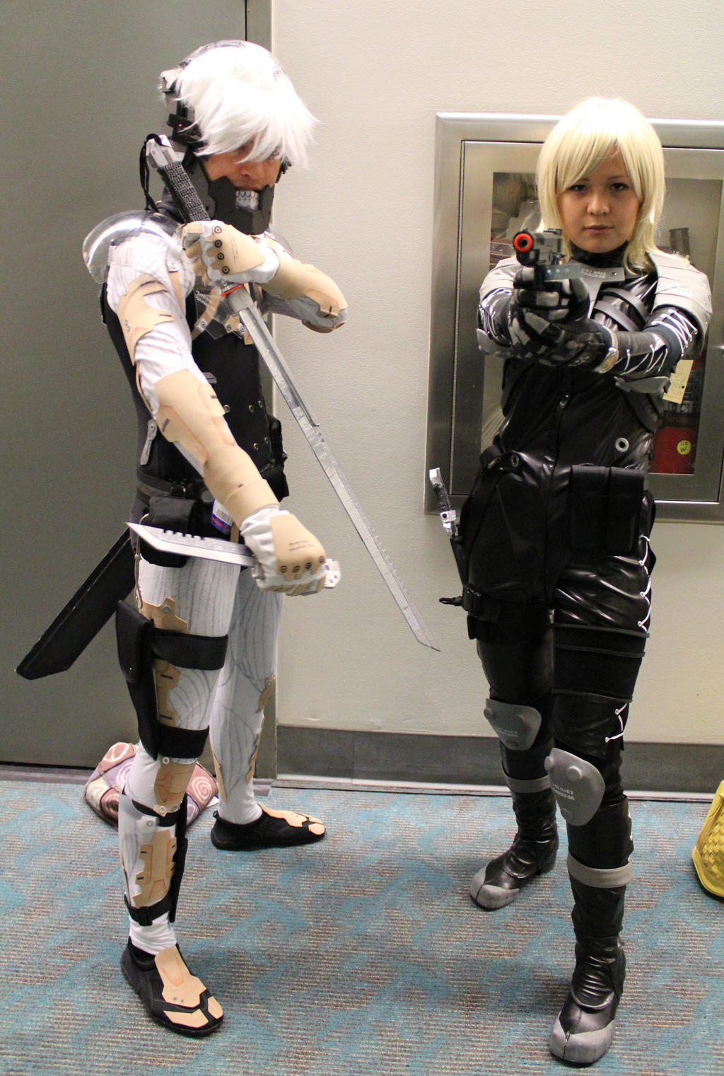 MGS at SDCC '11: Raidens by effektdmentality