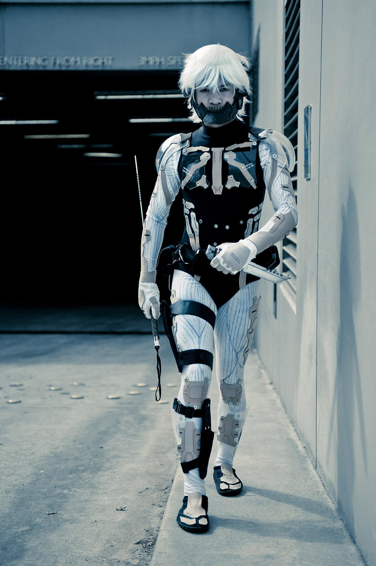 Raiden - Cyborg Ninja by effektdmentality