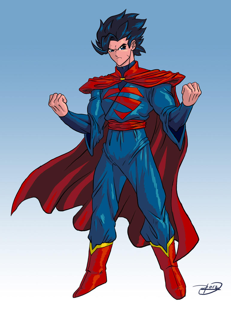 Manga DC 2012: Superman by effektdmentality