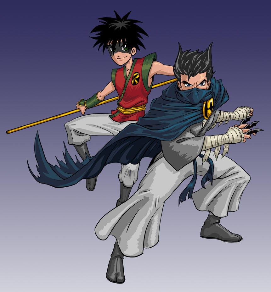 Manga DC 2012: Batman and Robin by effektdmentality