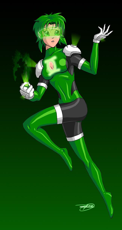 Manga DC 2012: Green Lantern by effektdmentality