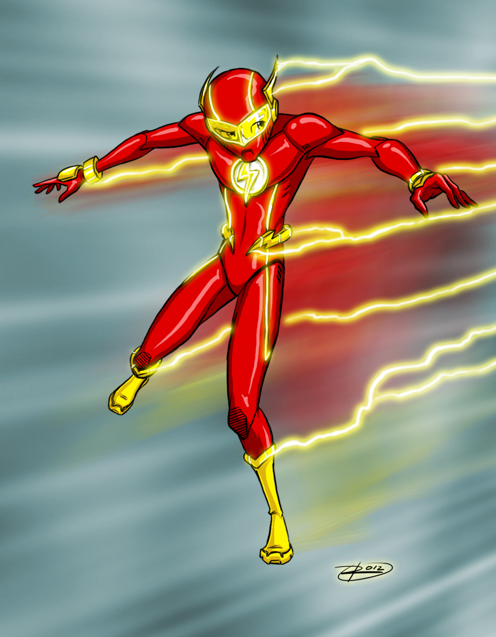 Manga DC 2012: The Flash by effektdmentality