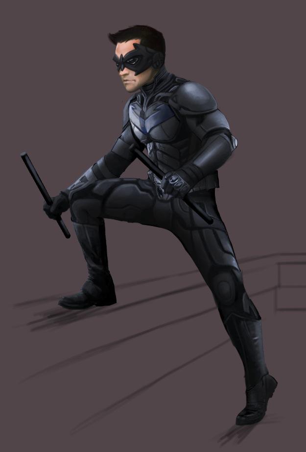 Nolanverse Nightwing by effektdmentality