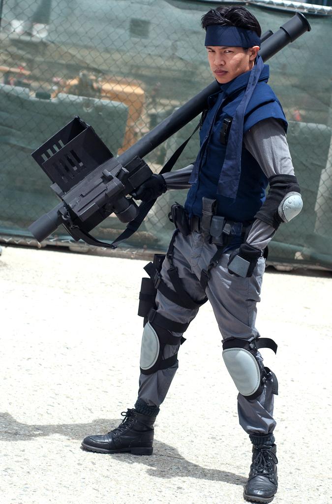 Solid Snake: Stinger by effektdmentality