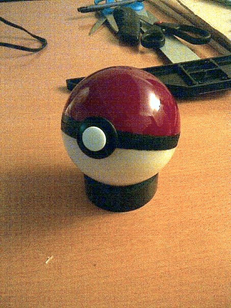 Pokeball Prop (w/ process) by effektdmentality