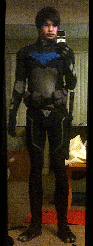 YJ Nightwing - WIP by effektdmentality