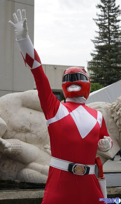 MMPR Red Ranger: Tyrannosaurus Dinozord Power! by effektdmentality