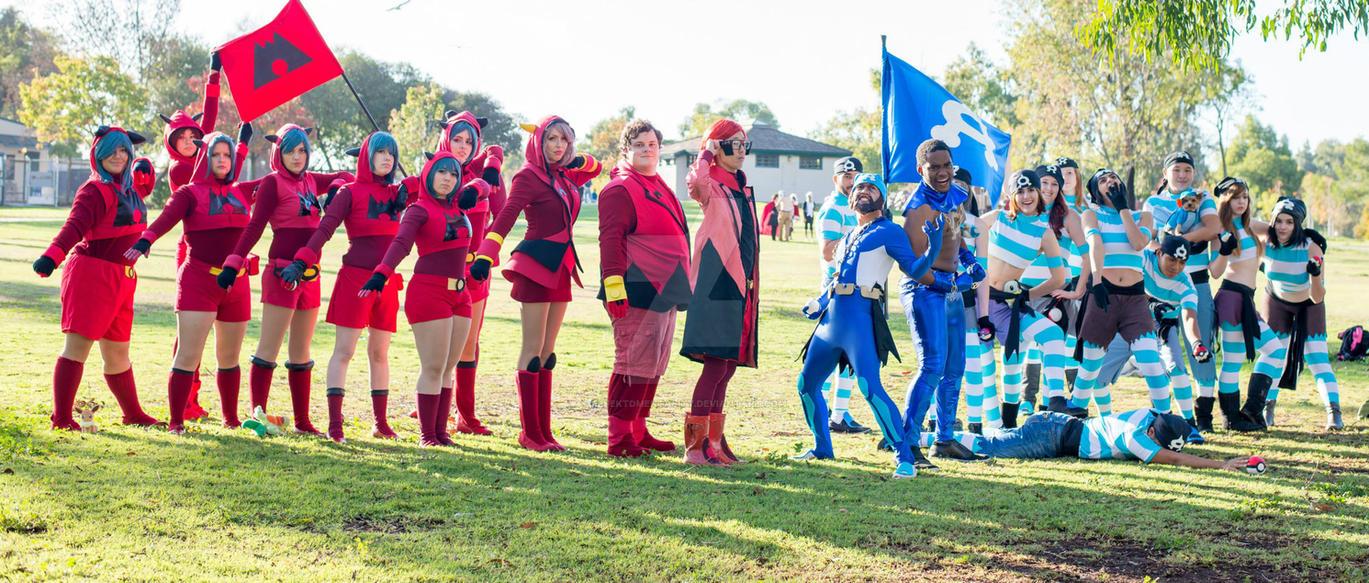 Archie: Teams Magma and Aqua! by effektdmentality