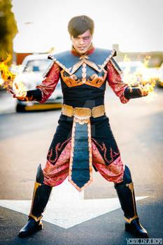 Prince Zuko: Crown Prince of the Fire Nation