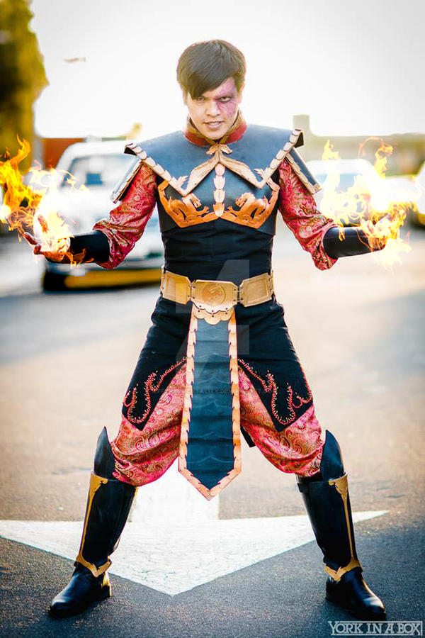 prince zuko  crown prince of the fire nation by