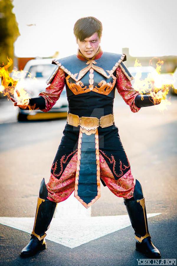 Prince Zuko: Crown Prince of the Fire Nation by effektdmentality