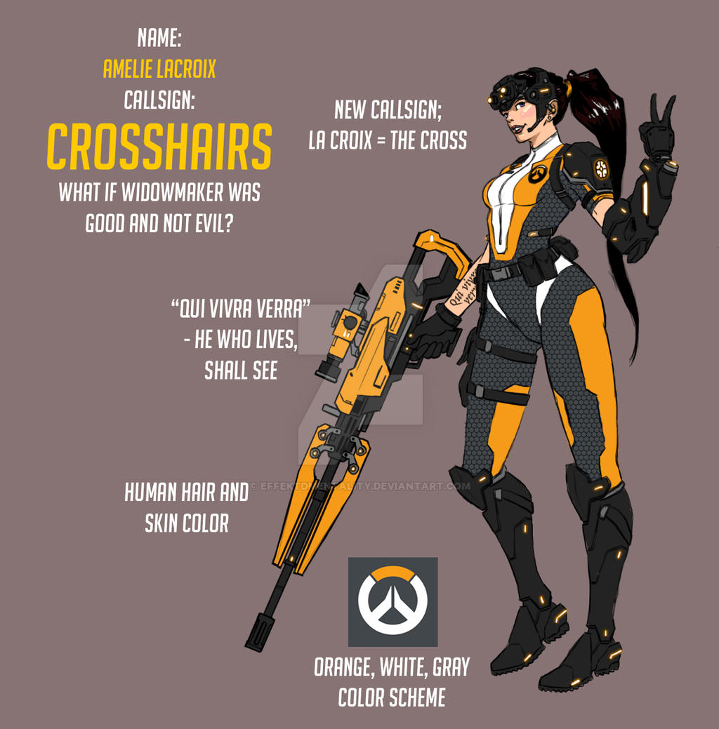 Overwatch Fan Skin Crosshairs By Effektdmentality On Deviantart