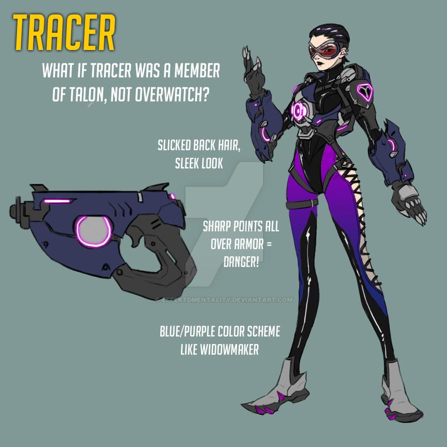 Overwatch Fan Skin: Talon Tracer by effektdmentality