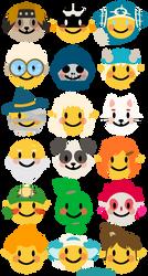 Dofus emojis by tawahane