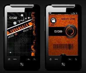 Futuristic Orange by ECadro