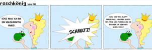 Froschkoenig Cartoon by Inilein