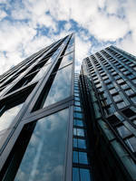 Skyscraper in Hamburg 2 by Inilein