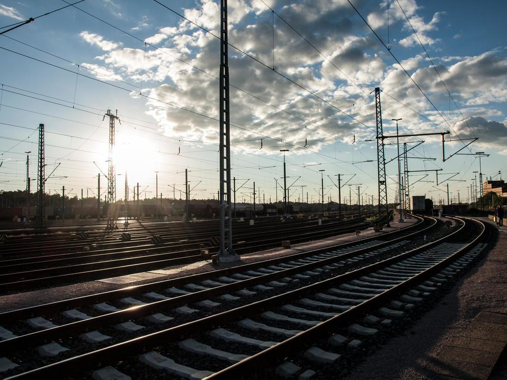STOCK Railway 2 by Inilein