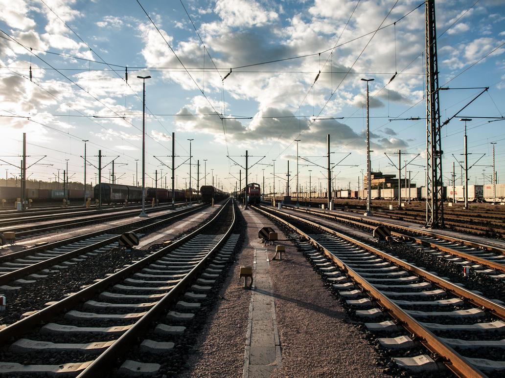 STOCK Railway 1 by Inilein