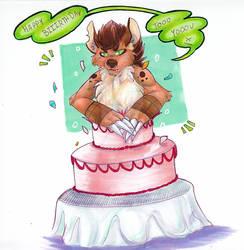 [GIFT] || u wanna see me pop outta da cake