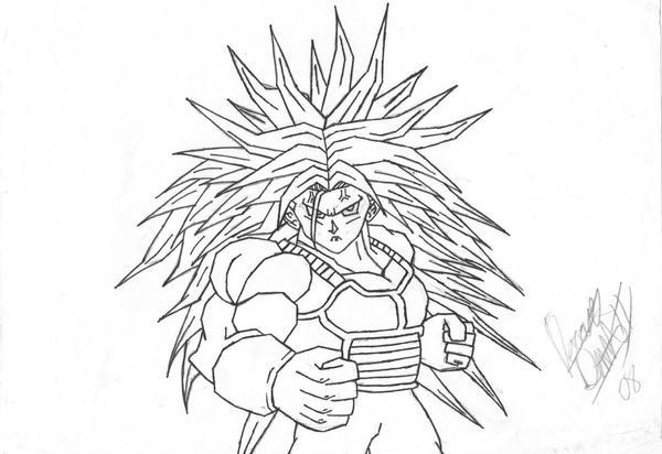 how to draw vegeta super saiyan 3