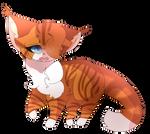 Dawn Stream   Warrior Cat OC   Quick Doodle