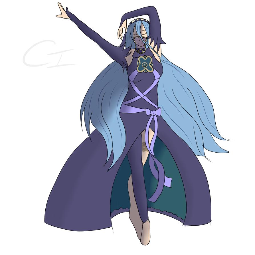 Fire Emblem Fates: Aqua/Azura Conquest Outfit