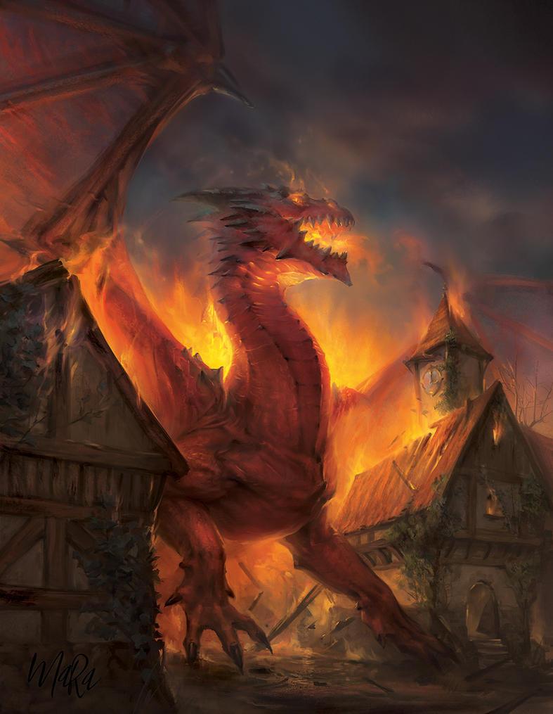 The Crimson Fury by Maradraws