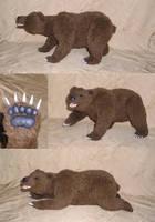 Brown bear by ellis-animals
