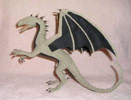nearly finished dragon by ellis-animals