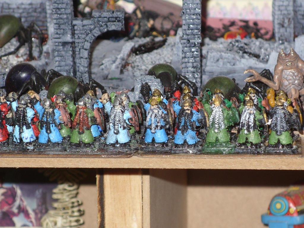 My first Dwarf production by piojote