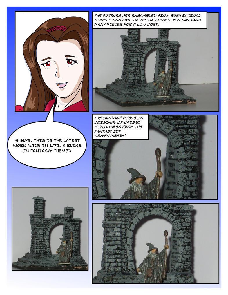 Ruins by piojote