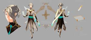 Pravi refsheet (revamp) by animaiden