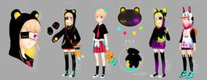 Aka refsheet (revamp) by animaiden
