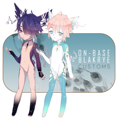 [OPEN] ON-BASE MYO BLAKRYE CUSTOMS by animaiden