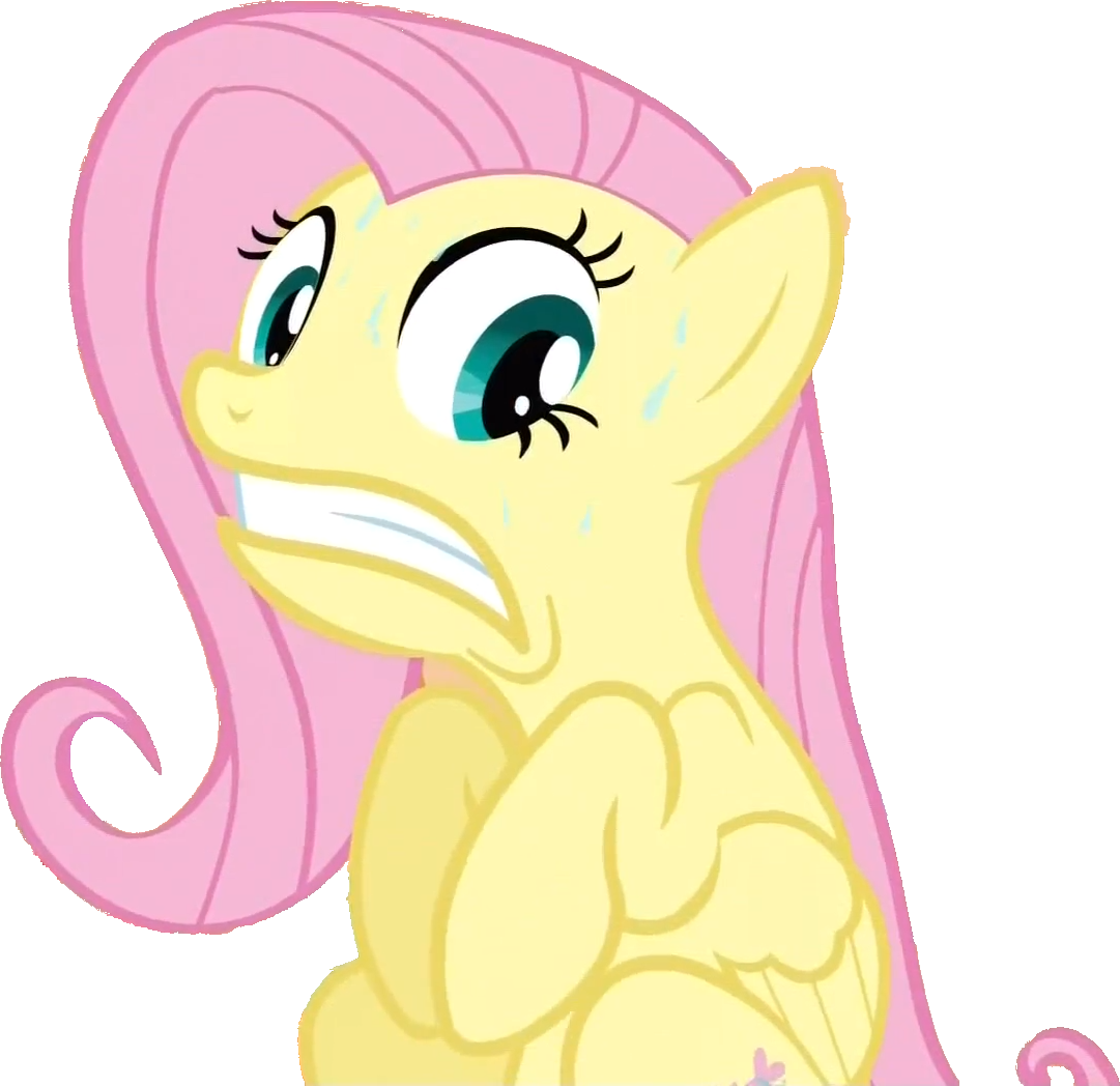 Fluttershy Scared by demon1887 on DeviantArt