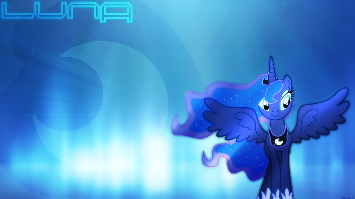 Luna [Wallpaper] by demon1887