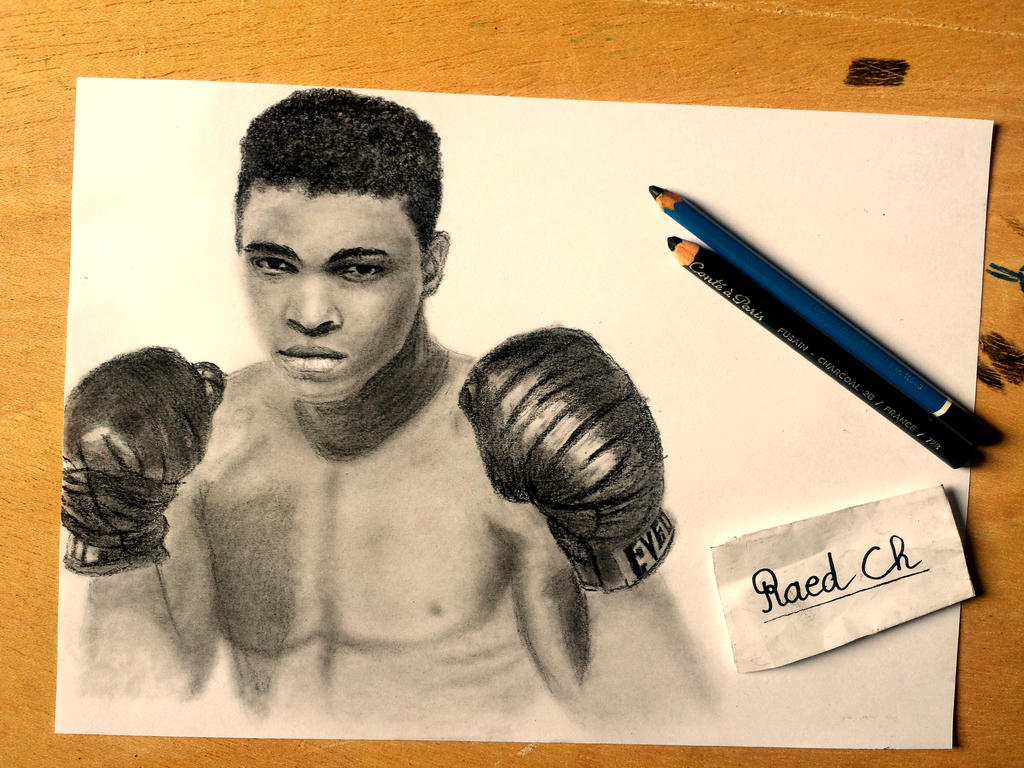 Tribute to :Muhammad Ali by raed0