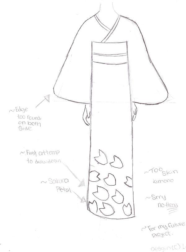 kimono drawing by loveless45 on DeviantArt