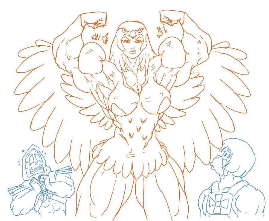 Sorceress wrath by blackkheart