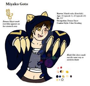 Demon Slayer OC - Miyako Goto