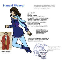 Lupin the 3rd OC - Hanaki Weaver