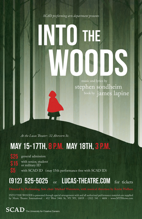 Into The Woods Poster by Bright-Smoke
