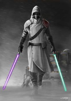 Gray Jedi Code Background