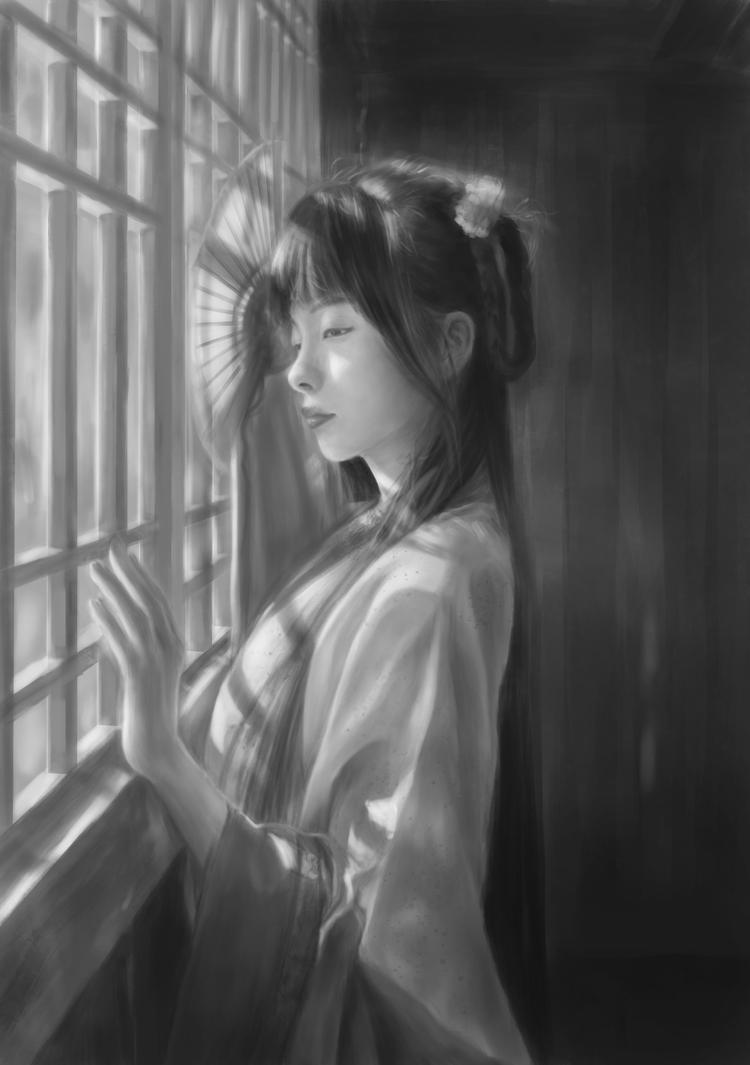 Value study 2 by JiDu276