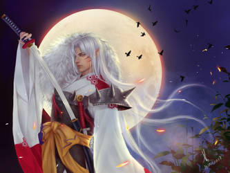 Sesshomaru by JiDu276