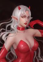 Devil girl by JiDu276