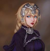 Jeanne d'Arc by JiDu276